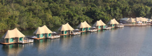Floating ecolodge Cambodia