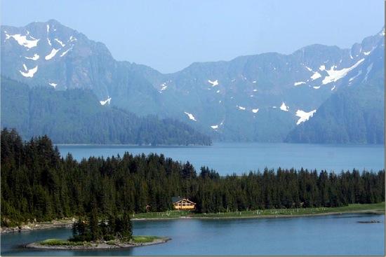 Kenai Fjords Alaska ecolodge lakes mountains