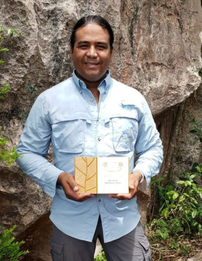 Best Nature Tour Guide award Puerto Rico winner